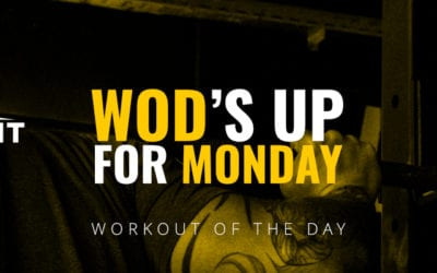 Be stronger – work out! Workout of the day – Testentry
