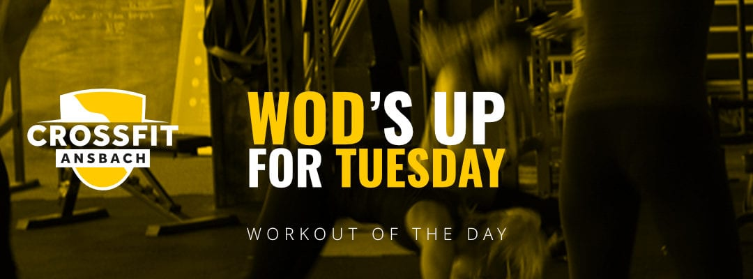 Workout of the day – Tuesday 17.03.20 Testentry